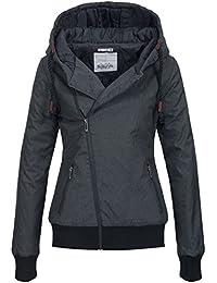 SUBLEVEL warme Damenjacke Winterjacke Parka mit Kapuze der aktuellen Kollektion 44308B