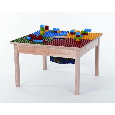 Fun Builder Duplo kompatibel Tisch 68,6x 68,6cm Made in den USA–Verkauft Hartholz Beine Built to Last.