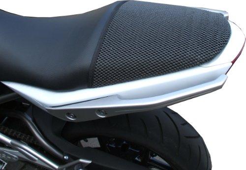 Triboseat Coprisella Passeggero Antiscivolo Nero Compatibile Con Kawasaki ER6N (2005-2011)