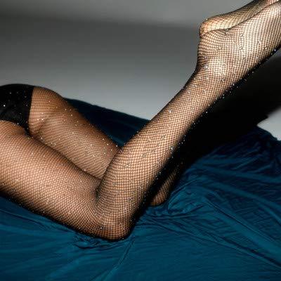 Pengpeng Strumpfhosen heiße Bohren Netzsocken voll von Sternen farbigen Diamant Leggings sexy Damenhosen