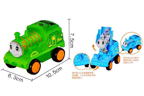 Vibgyor Vibes™ colourful Push and Go Train Toys (Pack of 1)-Best for Return Gifts