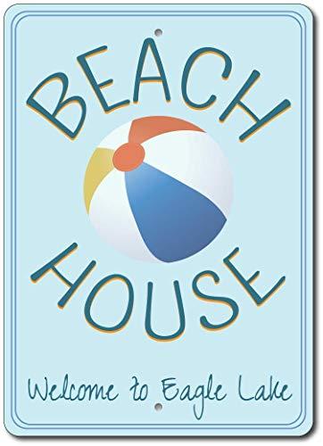 Mr.sign Beach Ball Blechwand Zeichen Vintage Eisen Malerei Retro Kunst Warnung Metall Plaque Decor für Straße Cafe Bar Schlafsaal Cafeteria