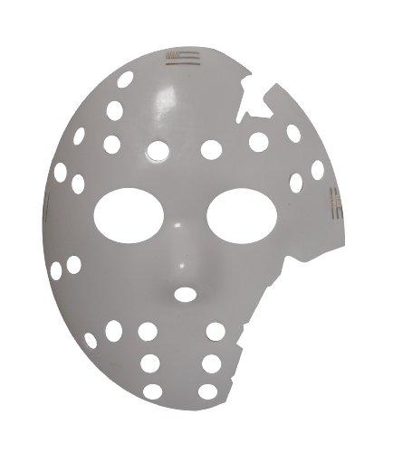 3 Weiß Kostüm Halloween Maske (5 Stück) (HM23) ()