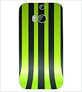 PRINTSWAG LINES PATTERN Designer Back Cover Case for HTC ONE M8s