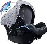 Dooky Hoody Sonnenschutz Sonnenverdeck für Autositz Babyschale (Gruppe 0+) Magic Rain