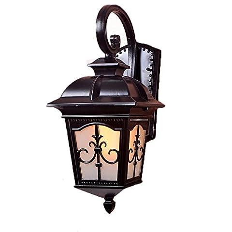 JIN Europäische Außenwand Lampe wasserdichte Lichter im Freien Balkon Lichter Korridor Lichter beleuchten Lichter , #2