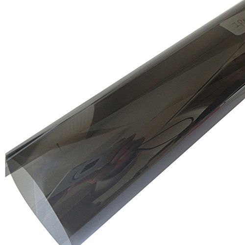 Super High Heat Ablehnung schwarz grau Tönungsfolie Folie Sun Control für Gebäude und Auto Sonnenschutz, Black/Grey/Multicolor, 1.52mx30m