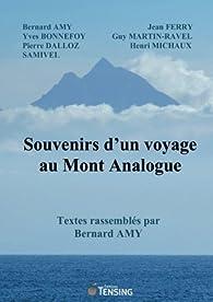 Souvenirs d'un voyage au Mont Analogue par Bernard Amy