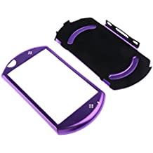 FNT Protective Aluminum Carry Hard Case Cover For Sony PSP GO Game Console Purple