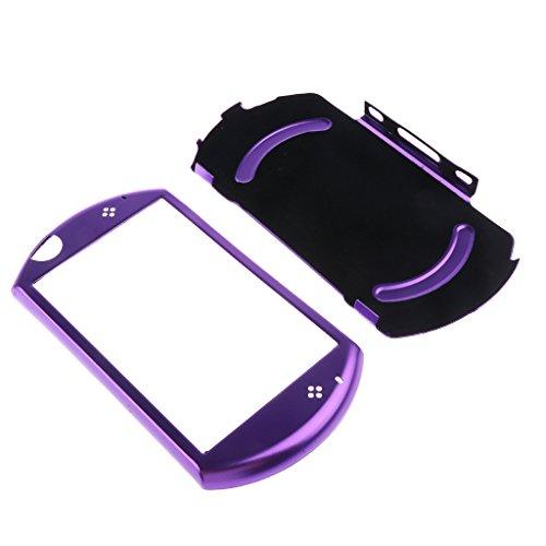 MagiDeal Aluminium Schutzhülle Hart Case Cover Schutz Protektor Kasten Abdeckung für Sony PSP GO Spielkonsole - Lila (Abdeckungen Gehäuse Und Psp)