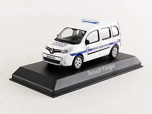 Norev NV511323 1 Municiaple 1:43 2013 Renault Kangoo Policía Modelo Municipal, Azul