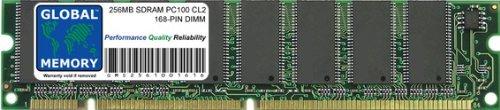 GLOBAL MEMORY 256MB PC100 100MHz 168-PIN SDRAM DIMM ARBEITSSPEICHER RAM FÜR PC DESKTOPS/MAINBOARDS -