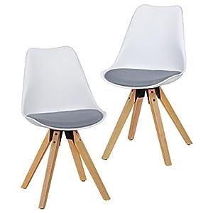 Esszimmer Stühle Holz Stoffbezug Deine Wohnideende