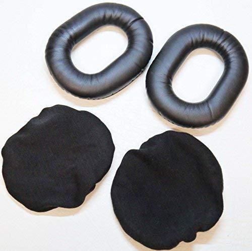 Autodily - Aviation Piloten Headset Schaumstoff Ohrdichtungsringe Plus Baumwolle Abdeckungen zu H10-13.4 Plus Andere Ohr Dichtungen Becher 1 Aviation Headset