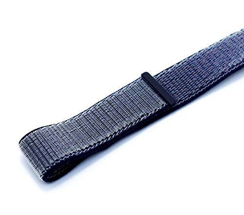iGuard 3D Premium Nylon Armband für Apple Watch 1 2 3 4-38mm / 40mm - Mitternachts Blau - Sport Loop/Stoff/Loop/Loop Armband/Klettverschluss/Nylonloop/Spotarmband/Sport Armband -