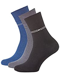 6 Paar Herren Kurzschaft Socken aus gekämmter Baumwolle, ohne Gummibund, ohne Naht, Top Qualität.