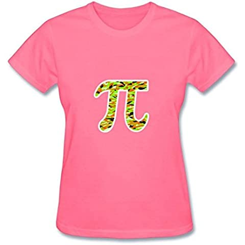 Norlma Pi Symbol Women's Cotton T Shirt Fitness