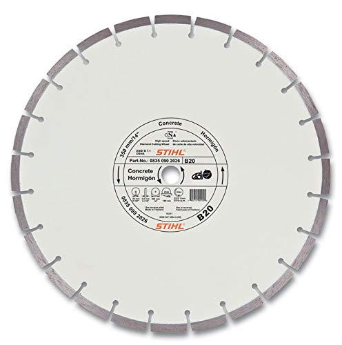 Stihl Trennscheibe für Beton D-B20, (08350907044) Durchmesser 350 mm
