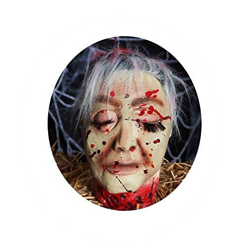 Blisfille Halloween Allerheiligen Schrecken Festival Supplies Bar Spukhaus Requisiten Taro Horror Ghosts Variety I