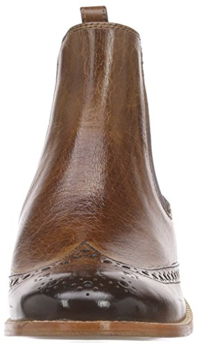 Melvin & Hamilton Damen Amelie 5 Chelsea Boots Beige (Classic Tan/Ela.Navy/LS)