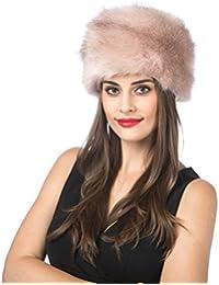 Lucky Leaf Donna Cappello Invernale in Stile Russo con Cappuccio Morbido e  Morbido Copricapo 3b574a07fe63