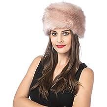 LUCKY Leaf Sombrero de Invierno de Estilo Ruso con Gorro Suave y Grueso  para Damas Mujeres c0038af36c6
