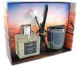 THE LONDON FRAGRANCE STORE - Relaxation - Bougie Parfumée de Luxe + Diffuseur à...