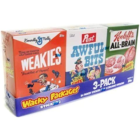 Wacky Packages All-new Series 7 Mini-cereal Box Tray (A) by