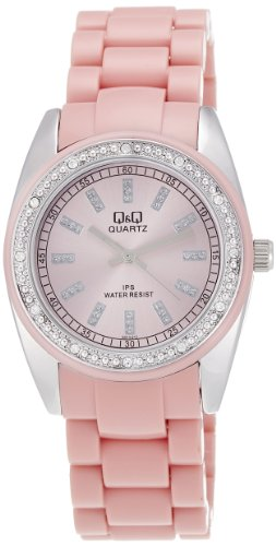 Q&Q Analog Pink Dial Women's Watch - GQ13J212Y image