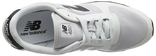 New Balance Herren U430v1 Low-Top Weiß (White/Black)