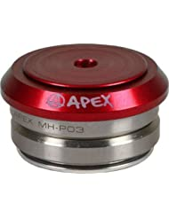 'Apex Full Integrated auricular 1 1/8 Patinete de dirección color rojo