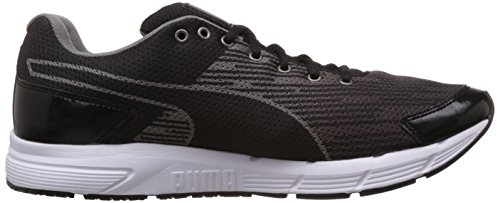 Puma Sequence, Running Entrainement Adulte Mixte Noir (Black/Aged Silver)