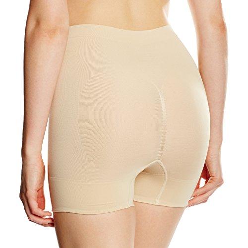 MAGIC Bodyfashion Damen Miederslip Comfort short, Einfarbig Beige (Latte 300)