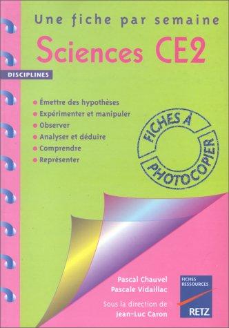 Sciences, CE2