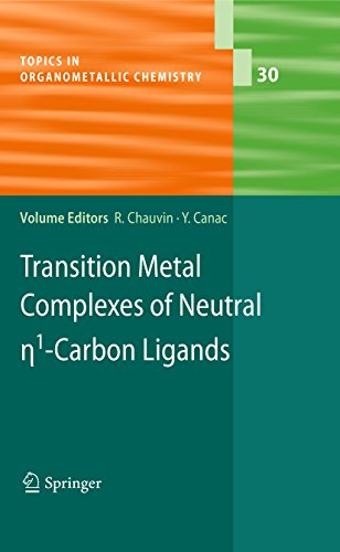 Remi Chauvin Yves Canac S Transition Metal Complexes Of Neutral Eta1