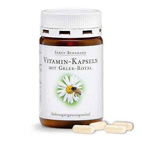 Sanct Bernhard Gelee Royal Vitamin-Kapseln mit Gelee-Royal 120 Kapseln - 500 Mg 120 Gels