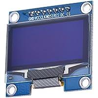 "HiLetgo 1.3"" SSH1106 SPI OLED LCD Display 128x64 OLED Display Module for Arduino AVR PIC STM32 51 Raspberry Pi"