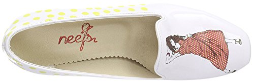 Neefs  Printed Shoes, Escarpins pour femme weiß