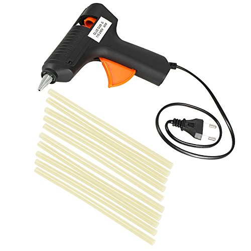 Walmeck 110-240 V 40 Watt Heißkleber Pistole KFZ Dellen Reparatur Klebepistolen Paintless Dent Repair Tool + 10 stücke Klebestifte
