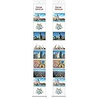 50 x 95 cm B Blesiya Deko DIY Bilderrahmen Fotovorhang Fotohalter Seil Klammer DIY Fotowand