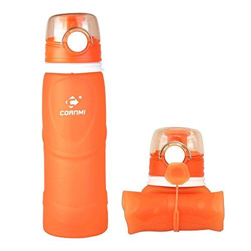 cornmi-zusammenklappbar-silikon-wasser-flasche-mit-haken-halbtransparent-tragbar-ungiftig-lebensmitt