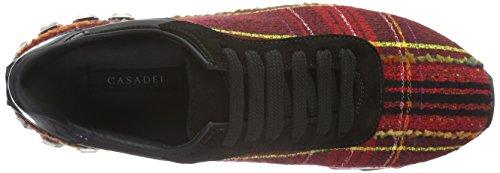 Casadei 2x859e020, Chaussures de Running Compétition Femme Rouge - Rot (Rosso 700)