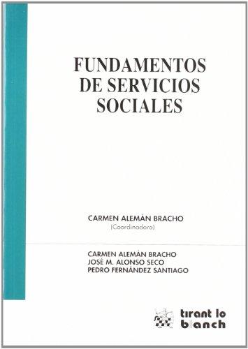 Fundamentos de Servicios Sociales por Carmen Alemán Bracho