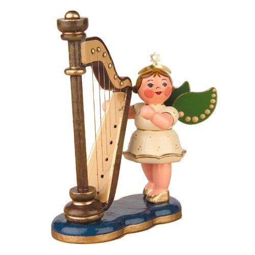 Unbekannt Hubrig Engel mit Harfe 65cm