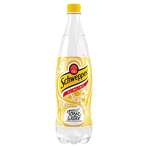 Schweppes Slimline Tonic Water 1L (Packung mit 12 x 1ltr) - Light Tonic