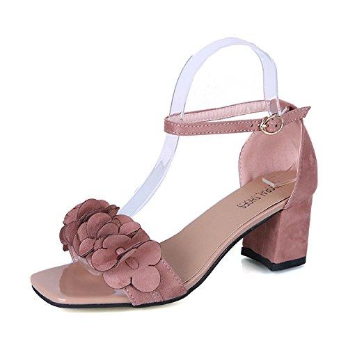 studentessa scarpe sandali sono parola scarpe migliori con spessi tacco sandali roma hollow 39