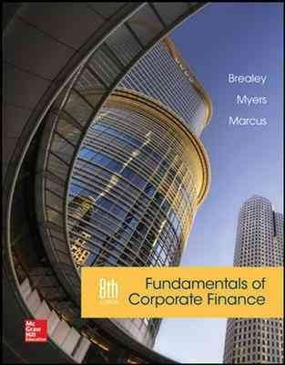 [(Fundamentals of Corporate Finance)] [By (author) Richard A. Brealey ] published on (October, 2014)