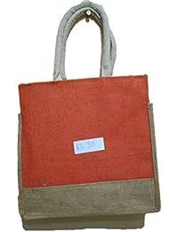 DSK Enterprise Jute Multi Color 11.5L*15w+4inch Box Eco Friendly Jute Bag (DSKE-1)