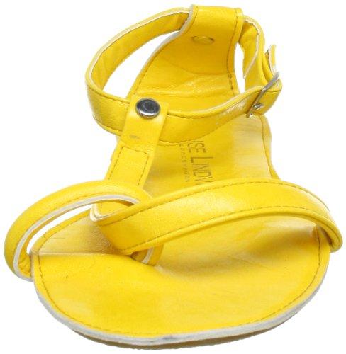 Lise Lindvig 008 006 55, Sandales femme Jaune (Yellow 55)