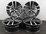 4 cerchioni in alluminio MAK DRESDEN 17 pollici adatto per Skoda Fabia 6V NJ Rapid NH 7J ET 46 5x100 Dresden NEU